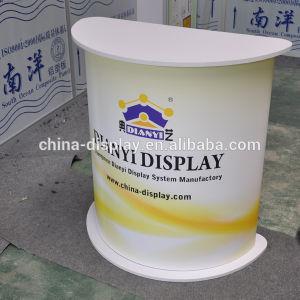 Compteur à affichage de publicité Stand de promotion de la forme de table multiples