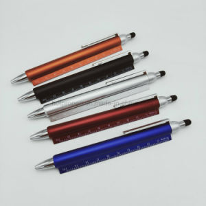 De nouveaux articles de papeterie multi fonction 3 en 1 cadeau promotionnel stylo avec règle & stylet