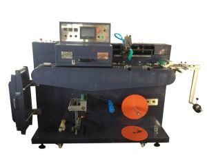 (JD-1501) 그로그레인 리본, 싼 가격을%s 가진 면 레이블을%s 기계를 인쇄하는 소형 단 하나 색깔 실크 스크린