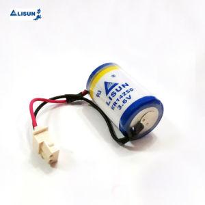 Bateria de lítio 3,6 V ER14250 1/2AA 1200 mAh Li-Socl Lisun2 Não recarregável Bateria cilíndrico de alimentação de energia para os contadores electrónicos