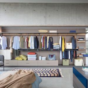Мода коричневый матовый шкаф платяной шкаф