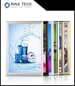 L'aluminium SNAP Frame LED boîte à lumière de la publicité
