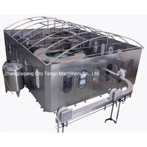 Bouteille de verre en plastique PET automatique de l'eau de boisson boisson de jus d'étanchéité de remplissage de liquide de l'embouteillage de l'étiquetage machine de conditionnement d'emballage