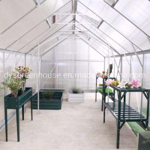 2019 Novo Design Multi Span 10mm Folha de policarbonato estilo celeiro (estufa RDGU0816-10mm)