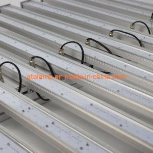 Full Spectrum LED haute puissance tube réglable usine mur panneau Pack soffite de la canopée haut de la baie La baie de haute croissance linéaire Bande souple vers le bas de plafond de la rue Tri-Proof Emer