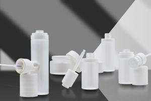 30g/50g envases cosméticos Frasco gotero de lujo esencial la jarra de cristal.