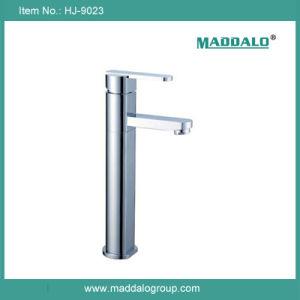 現代的な現代真鍮の高いクロム蛇口の浴室(HJ-9023)