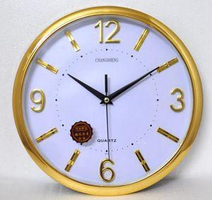Design OEM gold plating relógios de parede