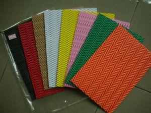 Folhas de EVA com padrões para Handworking