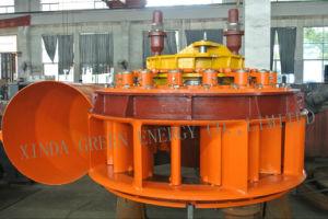 Bajo el agua de la Cruz de la cabeza de la turbina de flujo de Pequeñas Centrales Hidroeléctricas generador de turbina de agua de la turbina generadora de energía