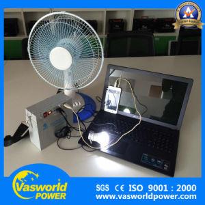 Использование солнечной энергии системы питания 12V20ah солнечной батареи зарядное устройство для мобильных телефонов