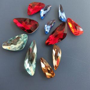 Parel van het Kristal van de multi-Grootte van het Punt van China de Decoratieve Achter voor het Maken van Juwelen