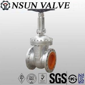 API литой стальной фланцевый запорный клапан
