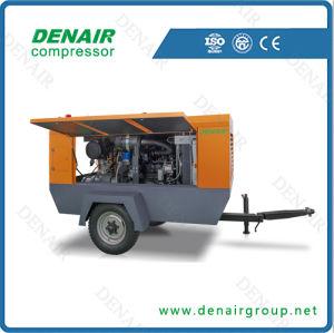 55kw 7.5bar móvil eléctrico compresor de aire para equipos de perforación