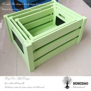 Hongdao는 목제 상자, 도매 큰 나무로 되는 포장 상자 _D를 주문을 받아서 만들었다