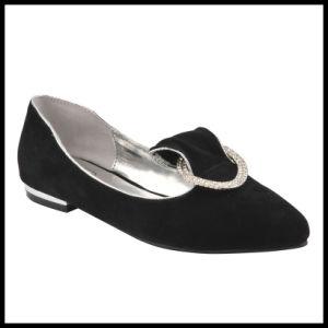 Nueva llegada de la moda señaló la convergencia de las mujeres zapatos planos (MS13-166)