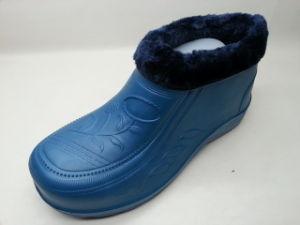 L'intérieur de la neige des bottes chaudes en hiver Chaussures Bottes de pluie avec de la fourrure