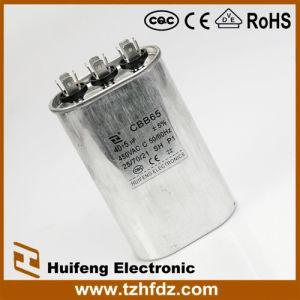 Hf Cbb65 Air Conditioner Capacitor 450V 4+4+4 Pins