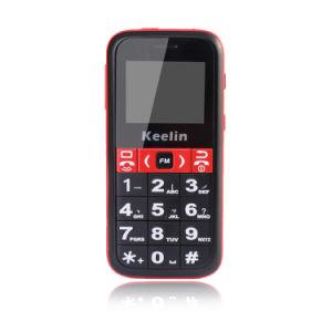 Senior GPS teléfono móvil para personas de edad, el seguimiento en tiempo real con gran voz/font/teclado/Linterna