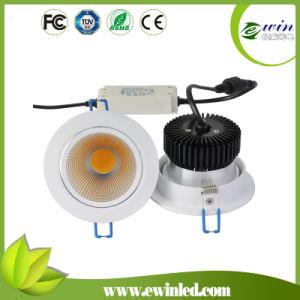 Diodo Emissor de Luz Downlight da ESPIGA 10W com Garantia 3years