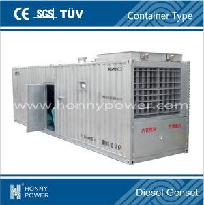 CE&ISO 20 ' /20ftの容器のCumminsのディーゼル発電機(HCM)