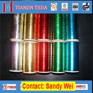 カラーによって塗られるアルミニウムによって金属で処理されるペットフィルム