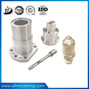 Kundenspezifische maschinell bearbeitenteile mit CNC-Drehbank-drehenanodisierender Oberflächenbehandlung