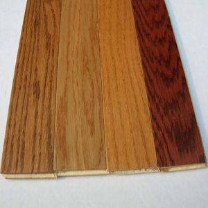 Un plancher de bois Handscraped Engineered un parquet en chêne Parquet en bois