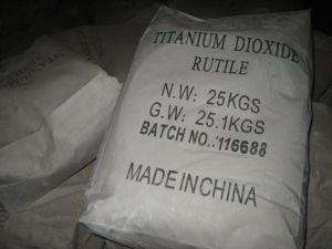 TiO2 van uitstekende kwaliteit, de Rang van het Rutiel van het Dioxyde van het Titanium van 99.8% voor en Auto die schilderen met een laag bedekken