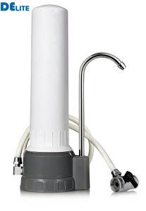 Círio único filtro de água da torneira em casa, Filtro de Água de cerâmica, purificador de água da torneira