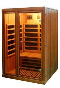 Canadá calentador de carbón de madera de Cedro Rojo Sauna Infrarrojo Lejano de la cabina de sauna W3 1 2 3 4 personas.