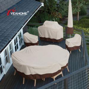 A mobília do pátio exterior à prova das tampas anti-UV churrasco respirável/Presidente/Tampa da mesa
