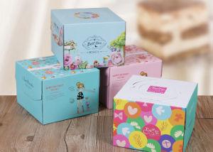 Savon de carton de la pizza au chocolat Gâteau d'emballage du papier d'emballage boîte cadeau