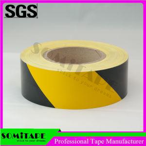 Cinta Somi SH501 de nivel de visibilidad Black-Yellow Imperio cinta reflectiva adhesiva