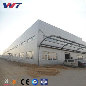 Estructura de acero de efecto invernadero de alta calidad OEM precisamente edificios de acero para almacén