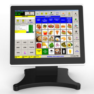Ultra mince POS Tablet-Like Touch Terminal avec affichage client VFD