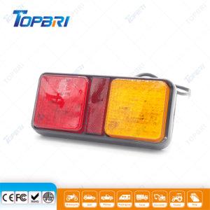 Vermelho âmbar 24V Veículo Combinação de LED de Luz da Lanterna Traseira