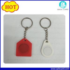 125kHz/13.56MHz Silicone RFID key fob/Etiqueta de chaves