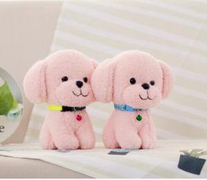 Giocattoli animali della peluche del cane materiale molle eccellente sveglio della peluche per i giocattoli della peluche dei capretti