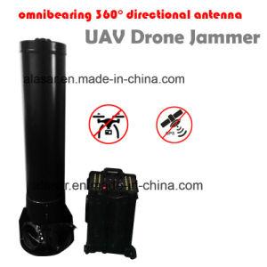 No Dead-Zoon Omnibearing de alta potencia de 360 aviones no tripulados Uav direccional Jammer