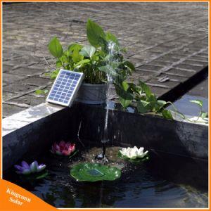 9V 2W de Zonne Aangedreven Vijver van de Pool van de Tuin van de Pomp gelijkstroom van de Fontein van het Water Zonne plant het Water geven Uitrusting