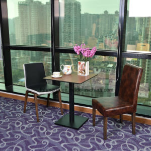 Кафе мебелью деревянный стол с кожаными креслами Председателя