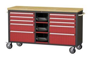 60inch avec 3 case avec revêtement en poudre outil bon marché armoires armoire de rouleau