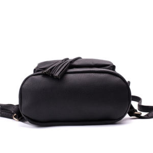 Newest cuir synthétique Tassel coulisse Lady sac à dos