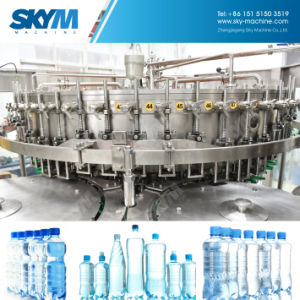 自動飲むびんの天然水の充填機のプラント