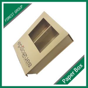 جديد عصريّ عالة ورقة [جف] صندوق مع نافذة