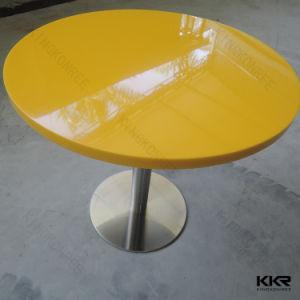 レストランの家具の石のゆとりのアクリル表および椅子