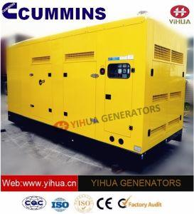 Cummins力のセリウムの承認[IC180302p]の200 KVAの防音のディーゼル発電機