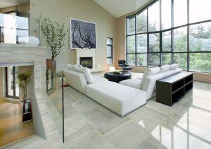 Tegel van de Vloer van het Porselein van het Lichaam van de Decoratie van het huis de Volledige Marmer Verglaasde