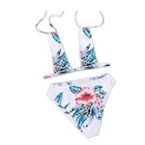 Mulheres na maturidade Beach Two-Pieces Desgaste Bikini